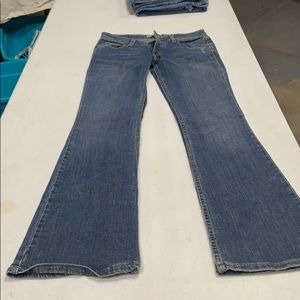 Levi's super low bluejeans!